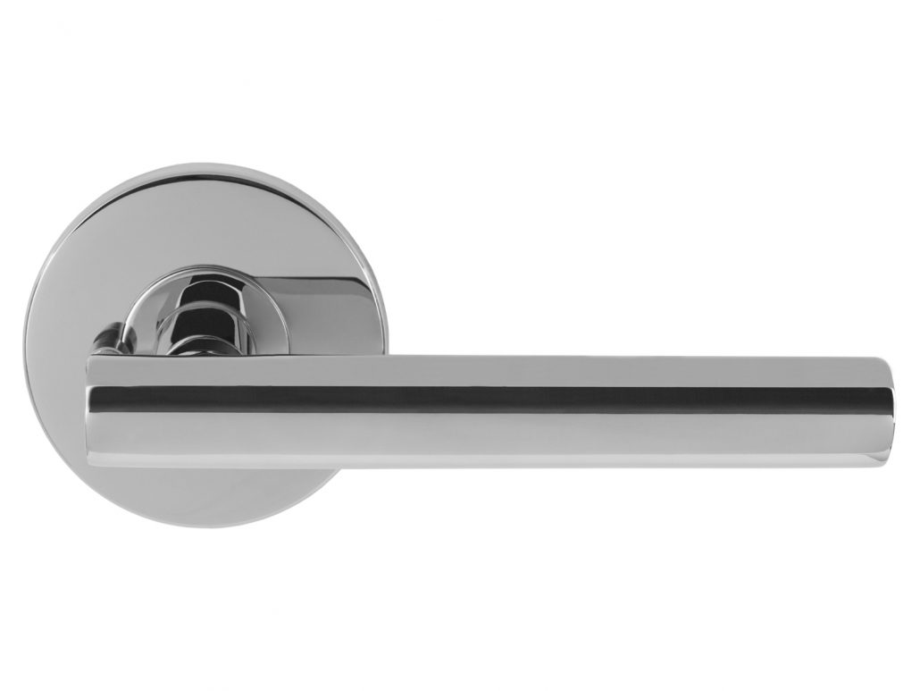 Modernus Chrome Door Lever Nova Interior Doors