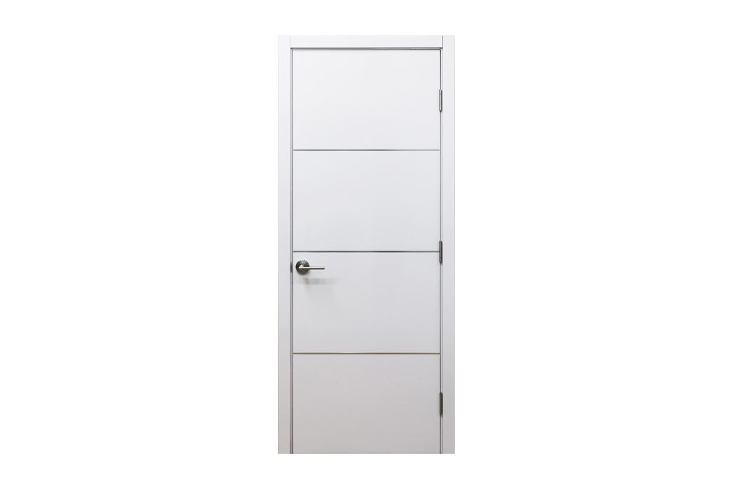 Hg008 interior door white gloss nova interior doors - Contemporary interior door knobs ...