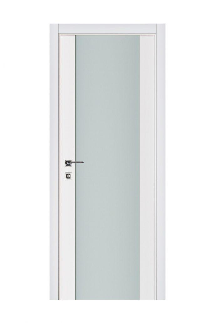 Triplex-001-Lacquered-Interior-Door-White