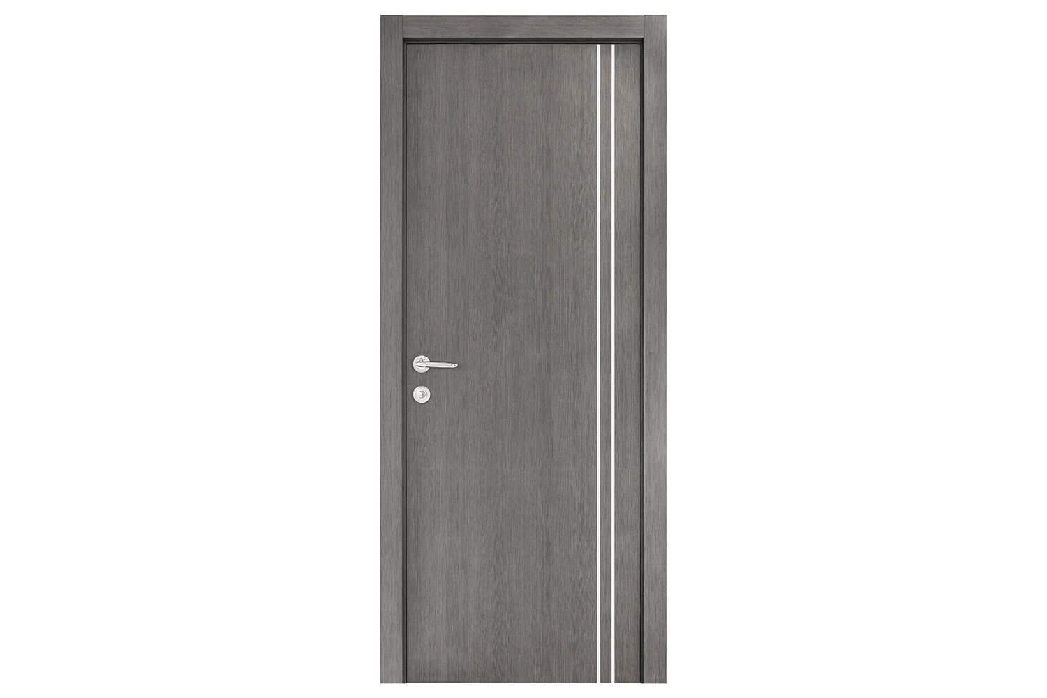 Smart 006 Gray Wood Eco Veneer Interior Door Nova