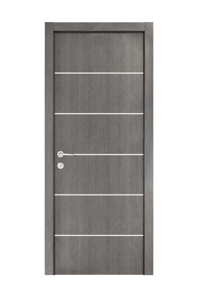 Smart 019 Gray Wood Eco Veneer Interior Door