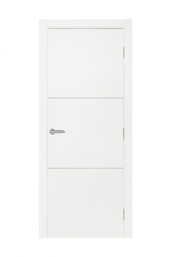 Smart 013 White Cortex Wood Interior Door