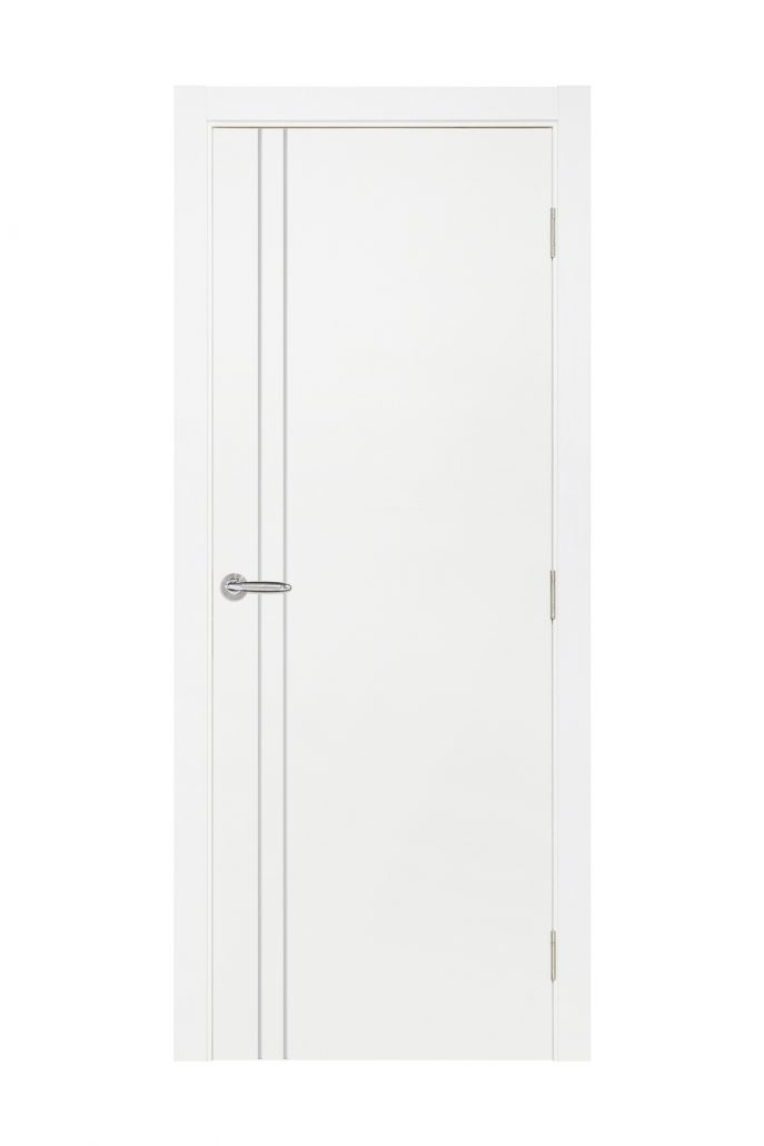 Smart 002 White Cortex Wood Interior Door