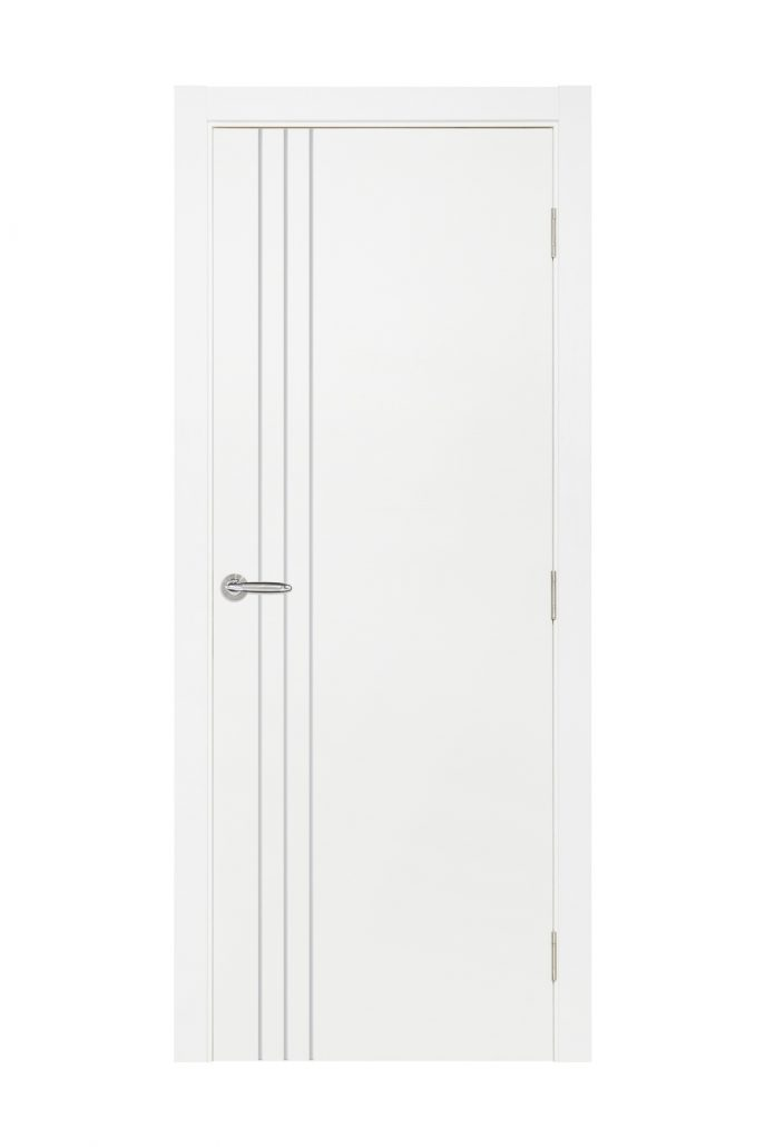 Smart 004 White Cortex Wood Interior Door