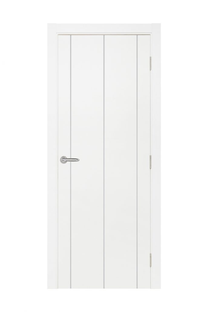 Smart 009 White Cortex Wood Interior Door