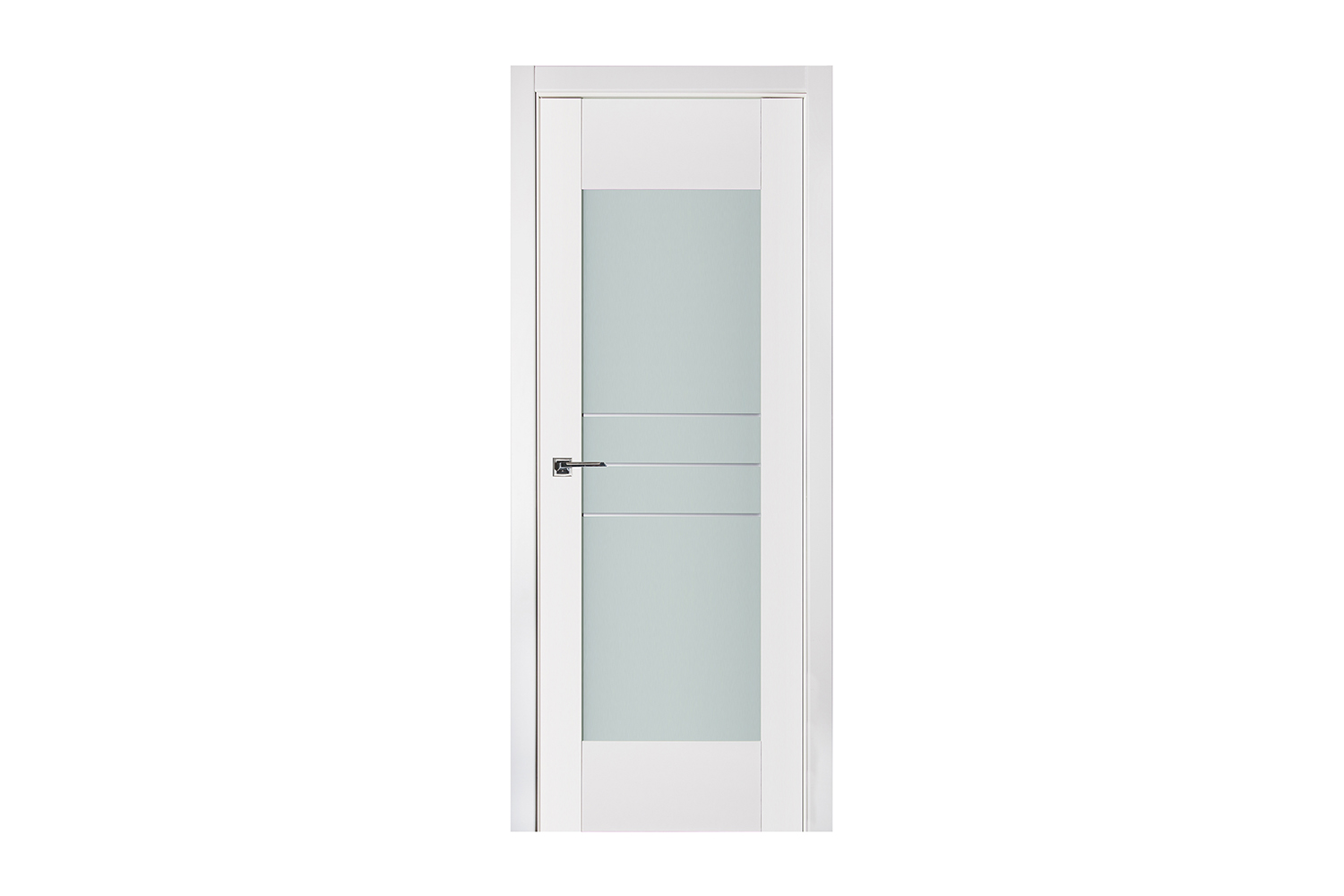 Triplex 052 White Wood Lacquered Modern Interior Door  sc 1 st  Nova Hardware & Triplex 052 White Wood Lacquered Modern Interior Door \u2013 Nova ...