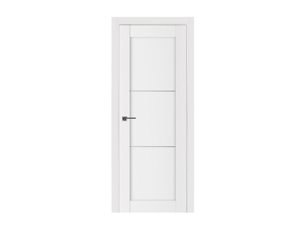 Stile 049 White Wood Lacquered Enamel Modern Interior Door Nova