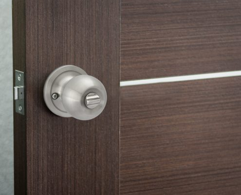 Pluto Privacy Door Knob - Installed