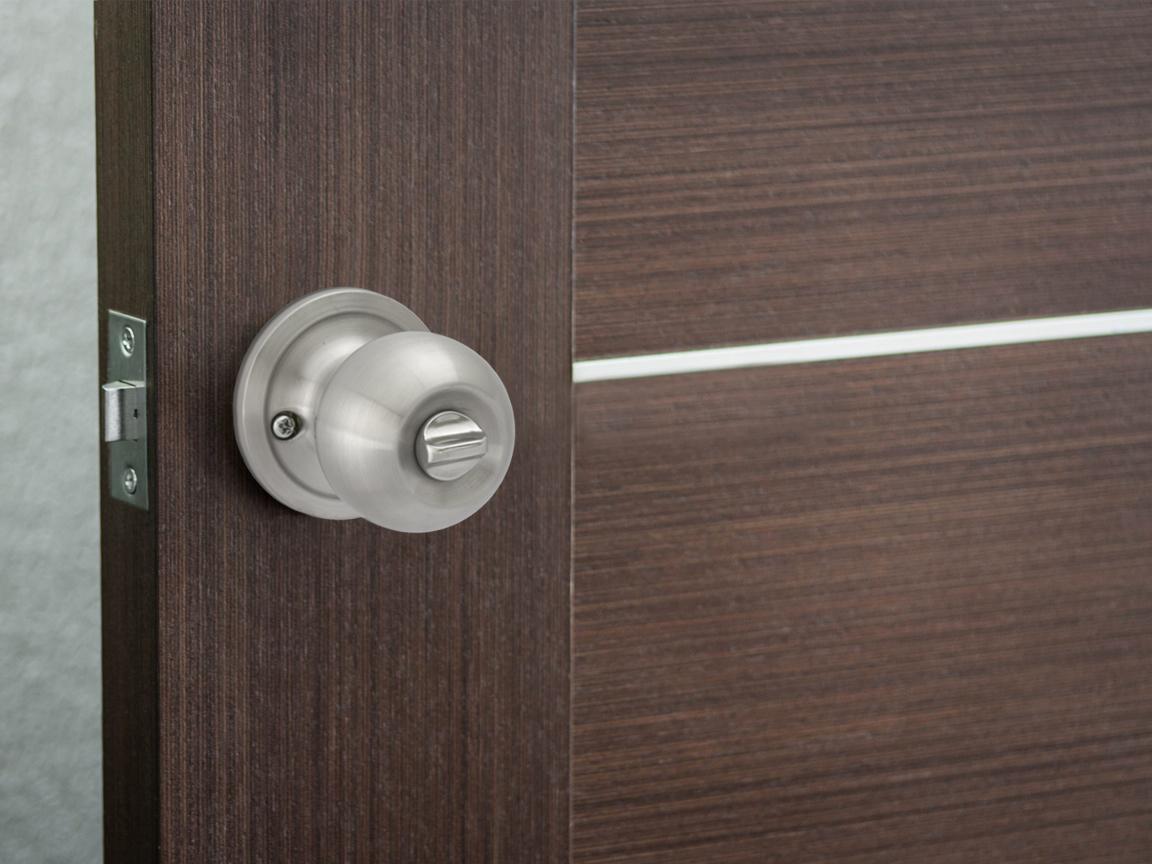 Pluto Privacy Door Knob - Installed