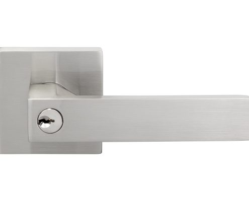 Quad Door Lever - Keyed