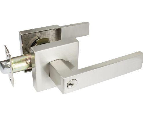 Quad Door Lever - Keyed Set