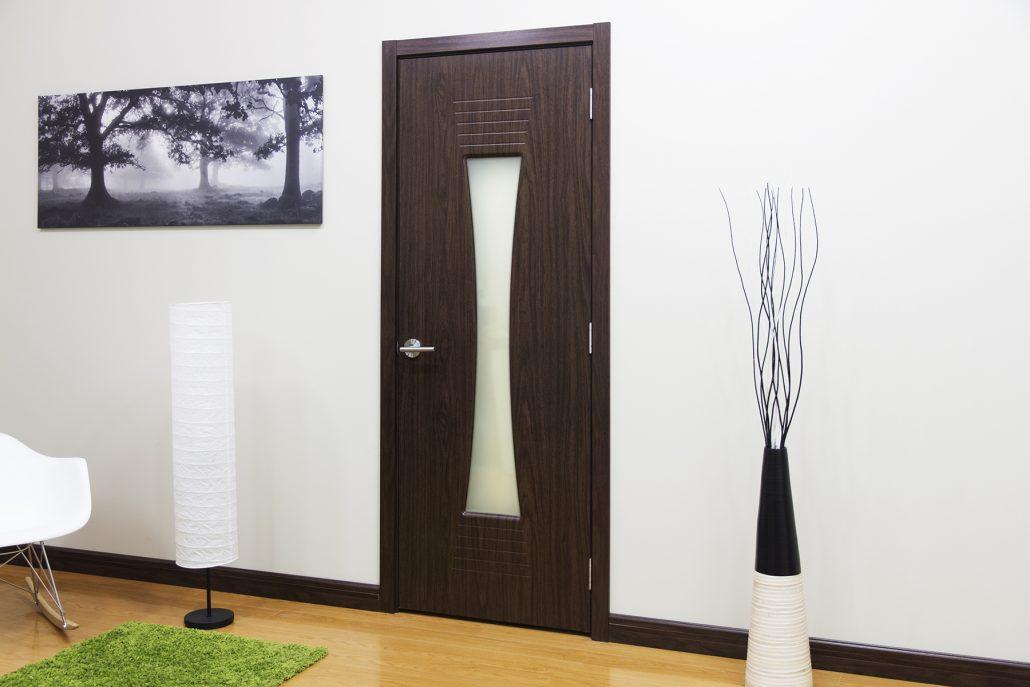M61 Interior Door Black Walnut Nova Interior Doors