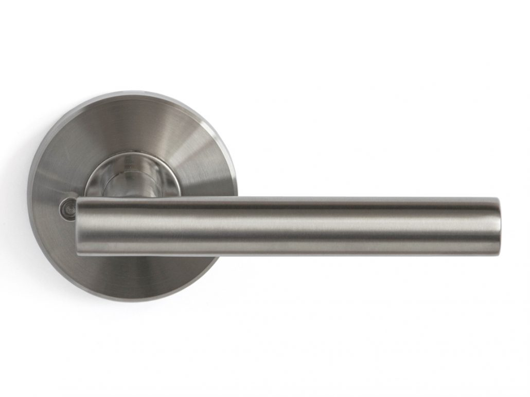 Modernus door lever nova interior doors for Interior door locks and latches