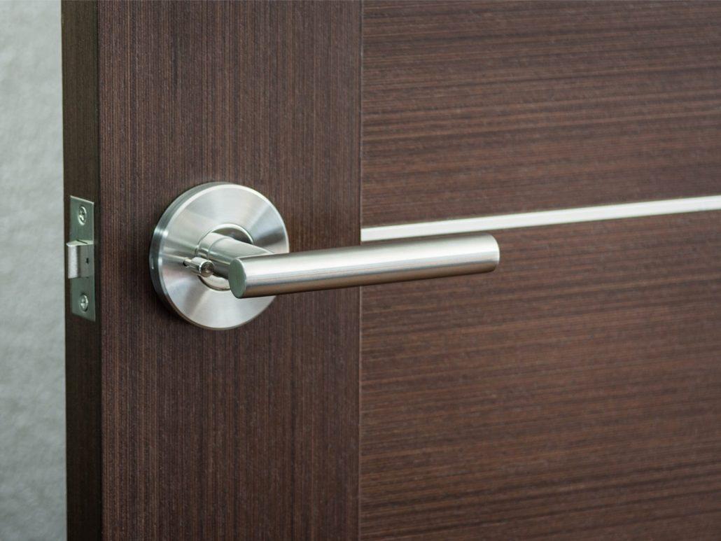 Modernus Door Lever Modernus Door Lever Installed ... & Modernus u2013 Door Lever u2013 Nova Interior Doors