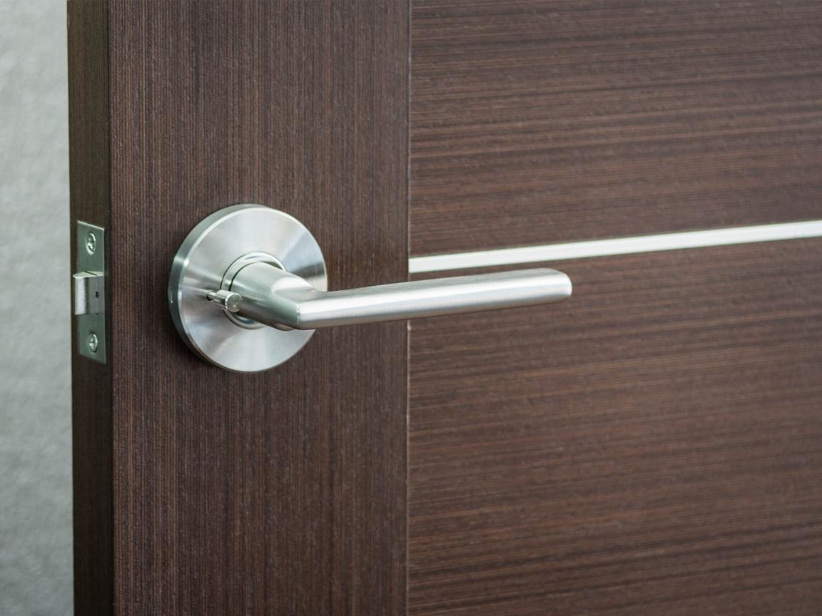 Simplicity Door Lever Installed
