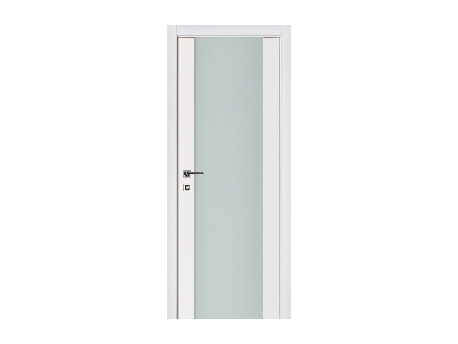 Triplex-001-Lacquered-Interior-Door-White