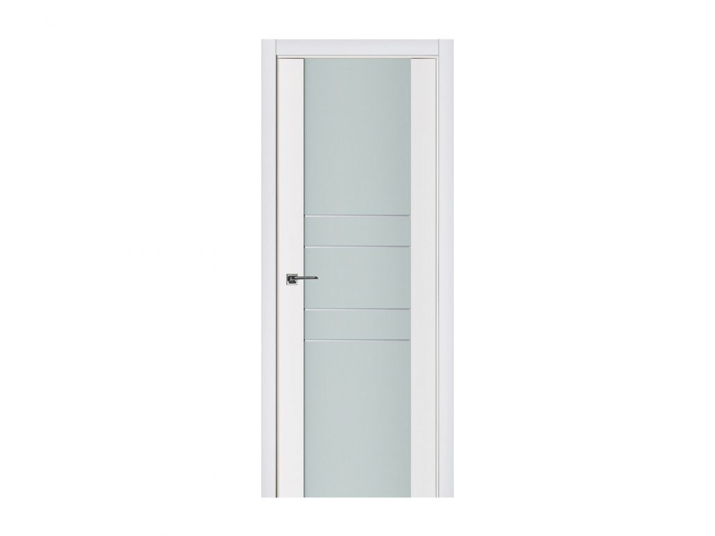 modern white interior door. triplex 010 white wood lacquered modern interior door p