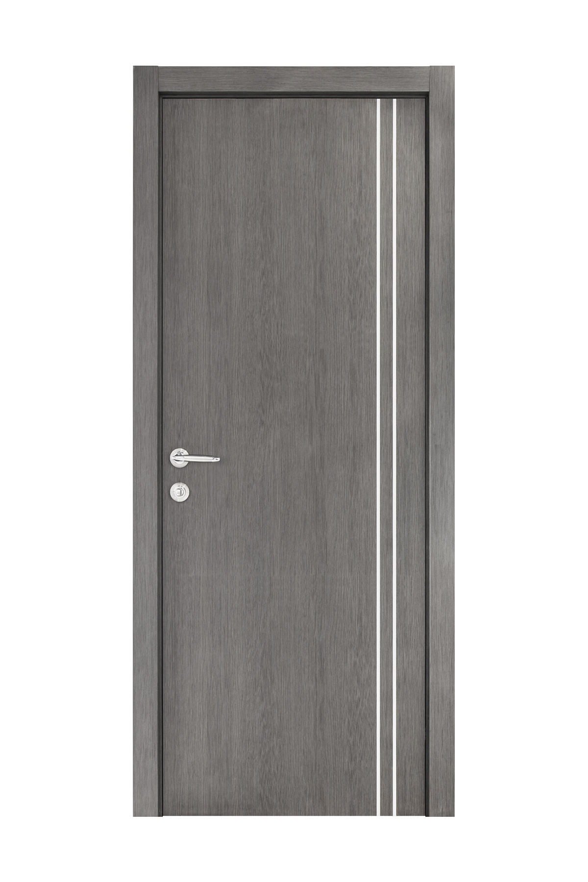 Smart 006 Gray Wood Eco Veneer Interior Door