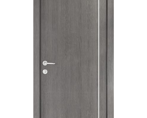 Smart 007 Gray Wood Eco Veneer Interior Door