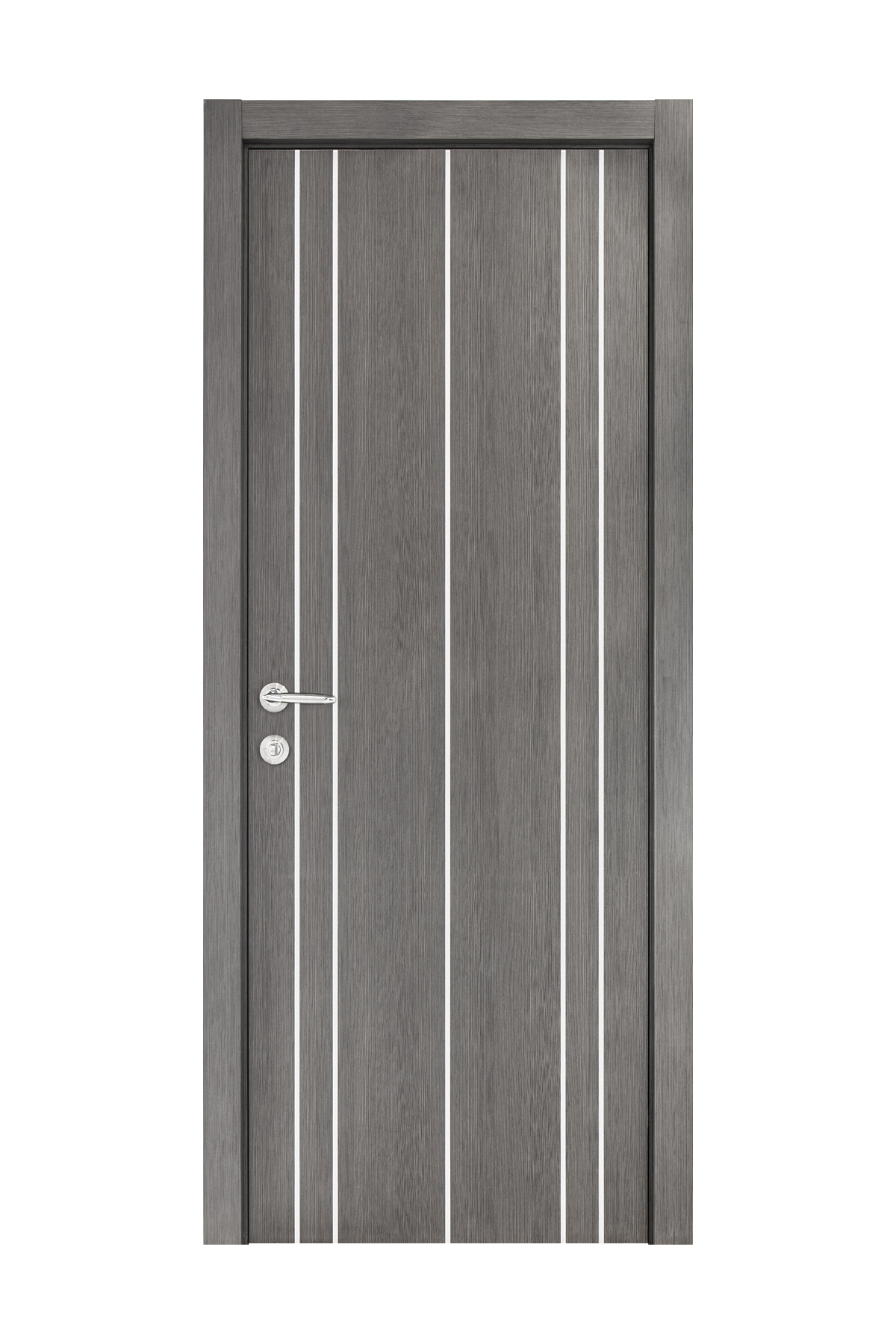 Smart 011 Gray Wood Eco Veneer Interior Door