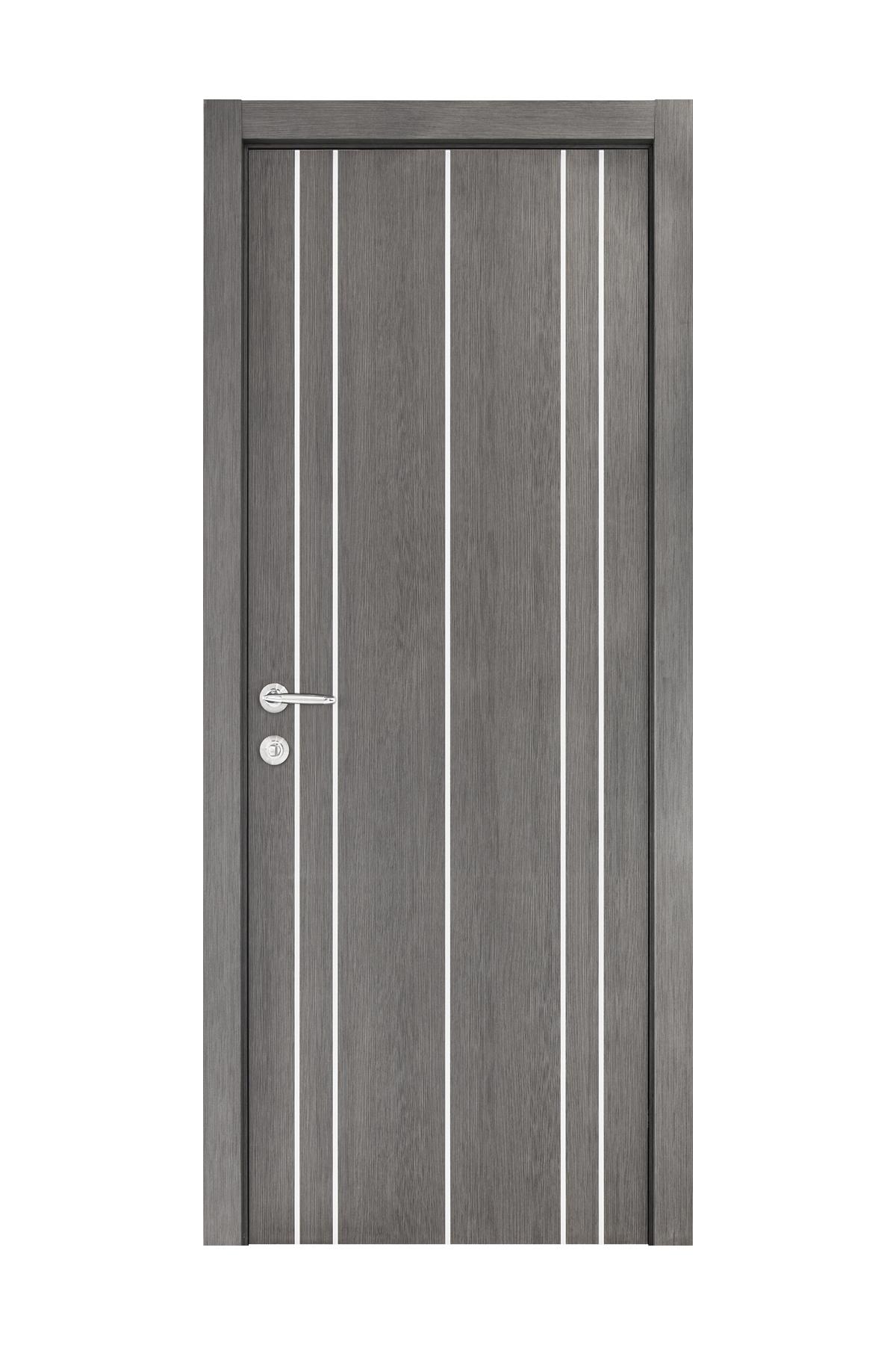 Smart 011 Gray Wood Eco Veneer Interior Door