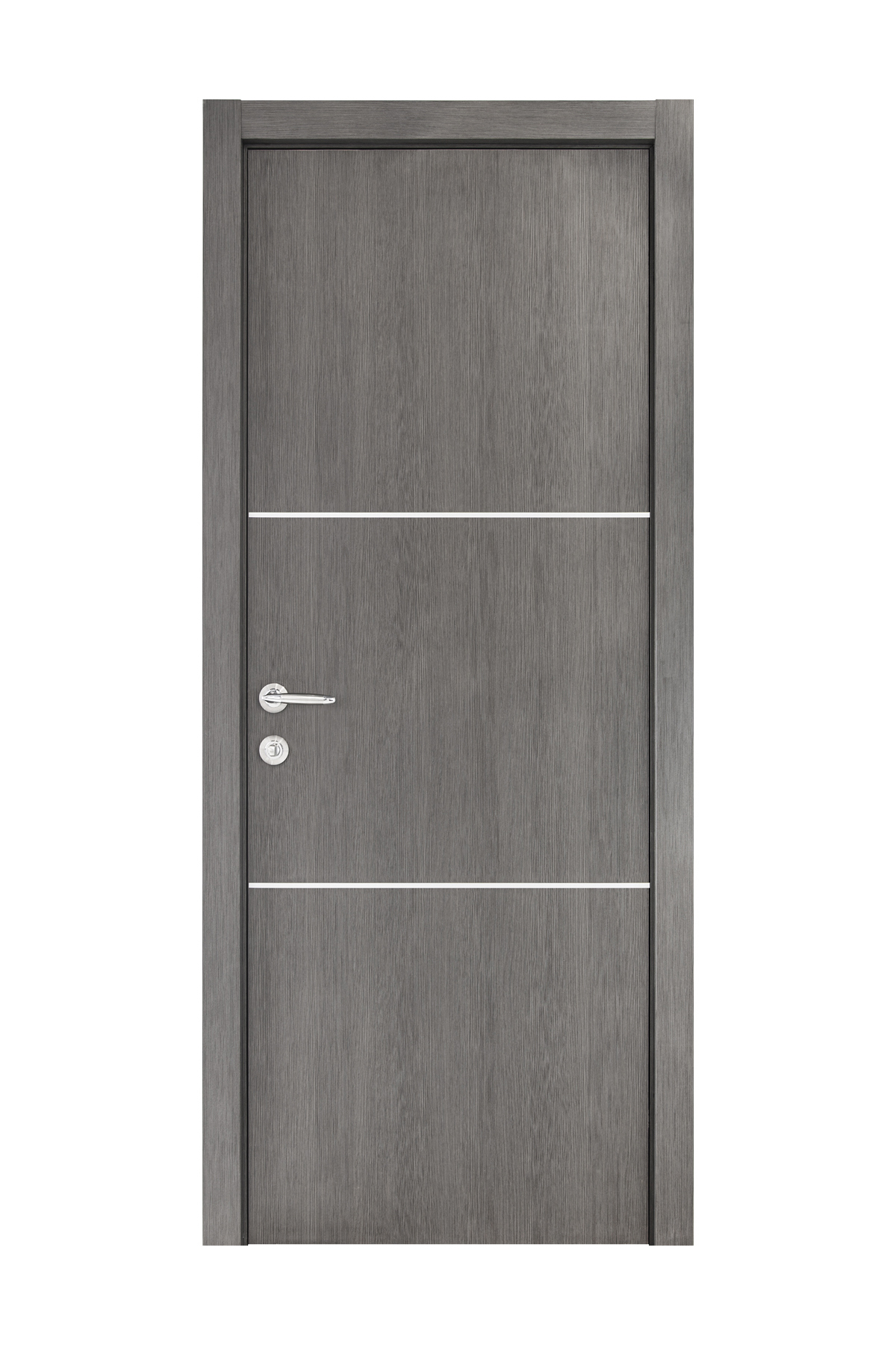 Smart 013 Gray Wood Eco Veneer Interior Door