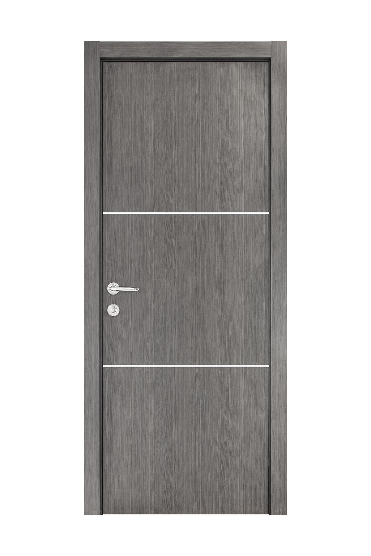 Smart 013 Gray Wood Eco Veneer Interior Door