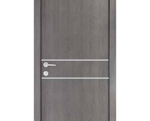 Smart 015 Gray Wood Eco Veneer Interior Door