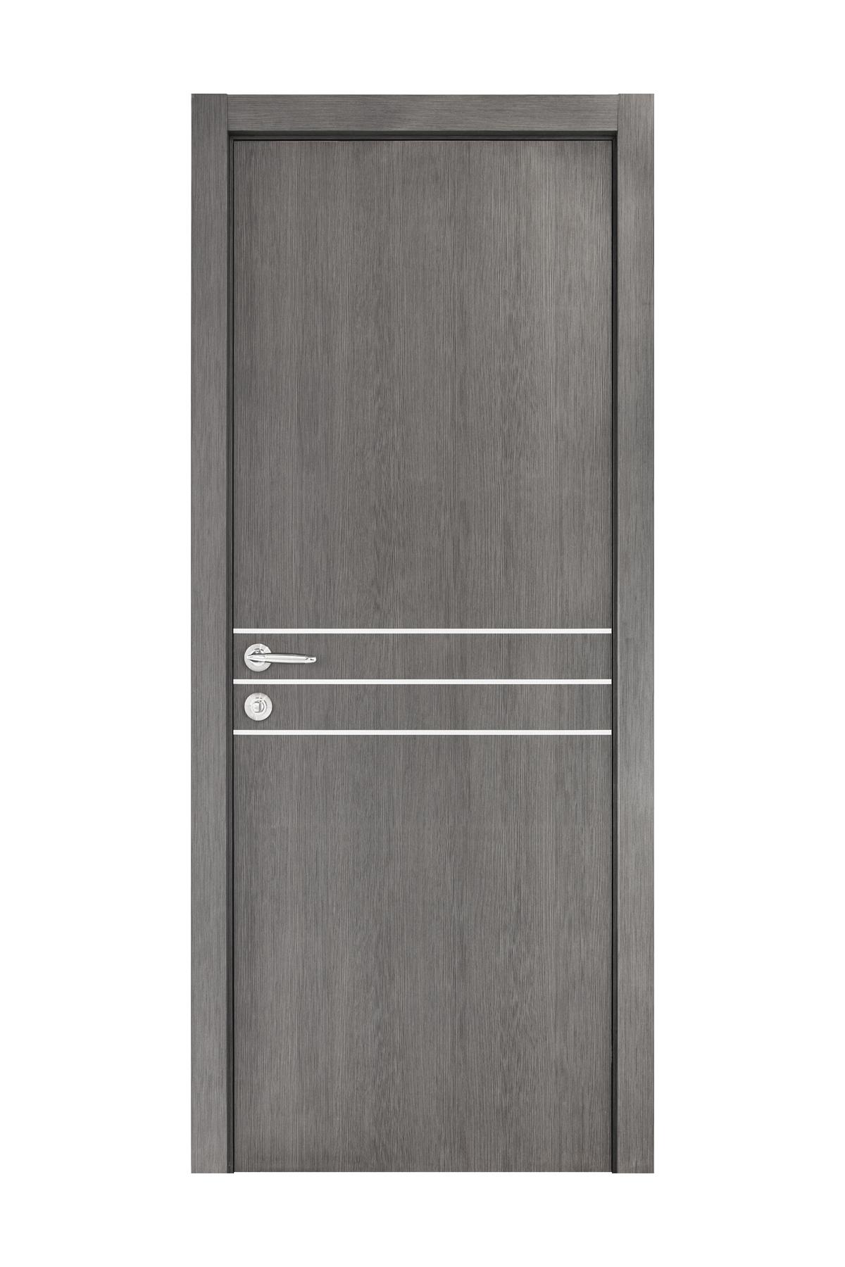 Smart 016 Gray Wood Eco Veneer Interior Door
