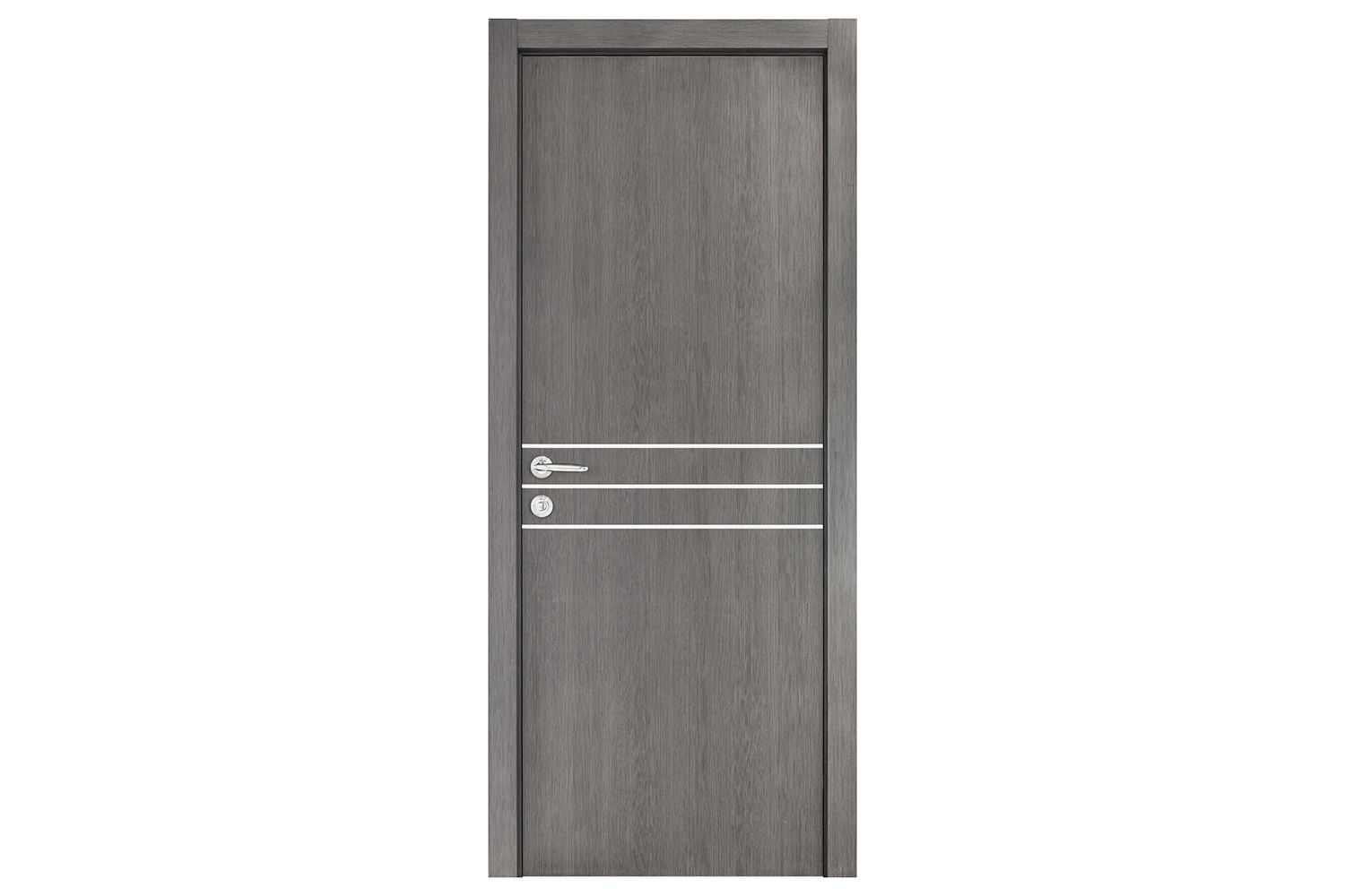Smart 016 Gray Wood Eco Veneer Interior Door