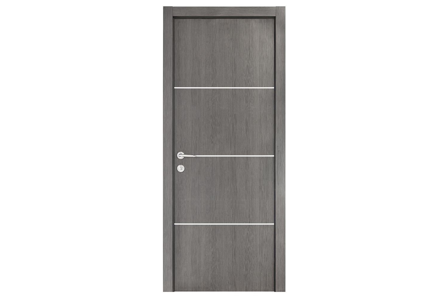 Smart 017 Gray Wood Eco Veneer Interior Door