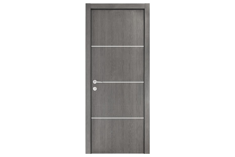 Smart 017 Gray Wood Eco Veneer Interior Door