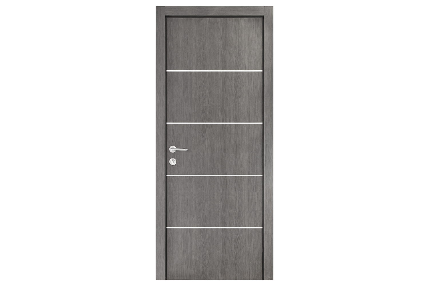 Smart 018 Gray Wood Eco Veneer Interior Door
