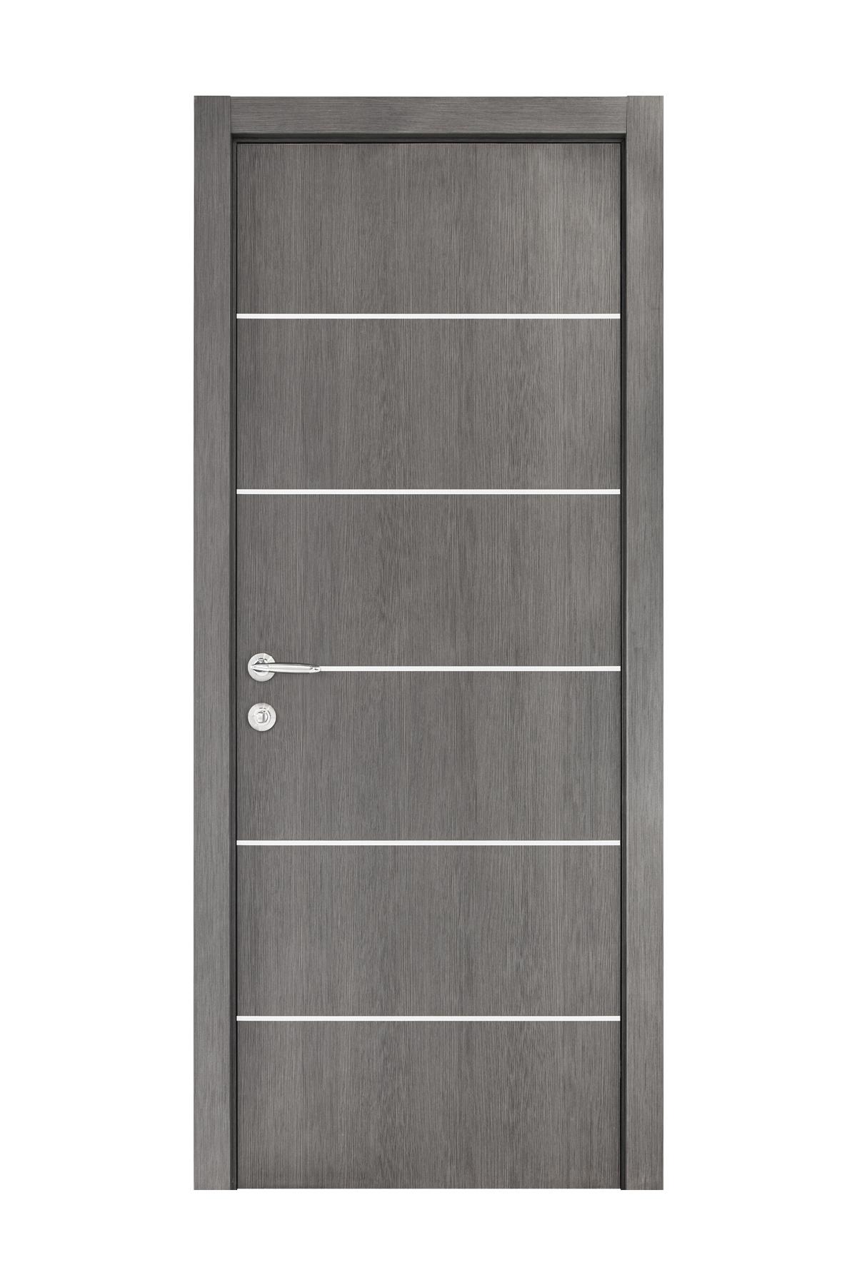 Smart 019 Gray Wood Eco Veneer Interior Door
