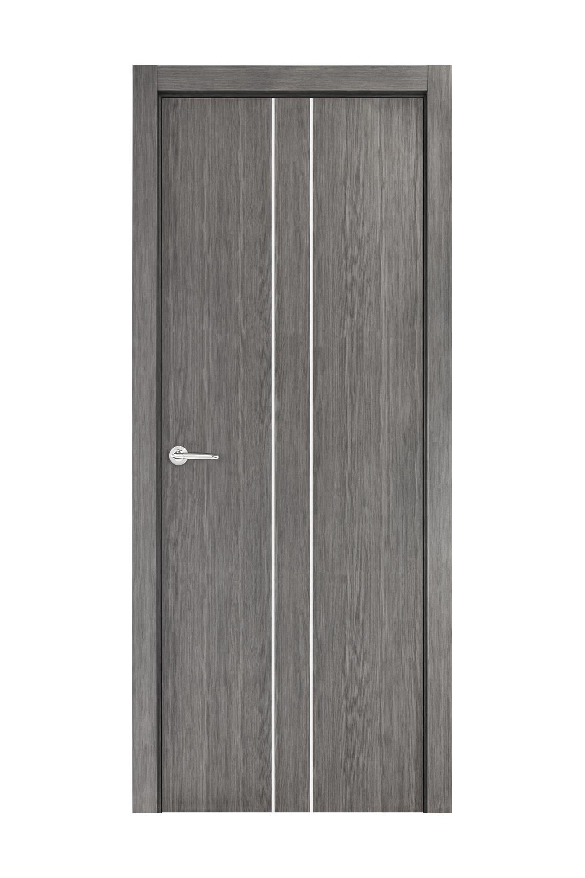 Smart 021 Gray Wood Eco Veneer Interior Door