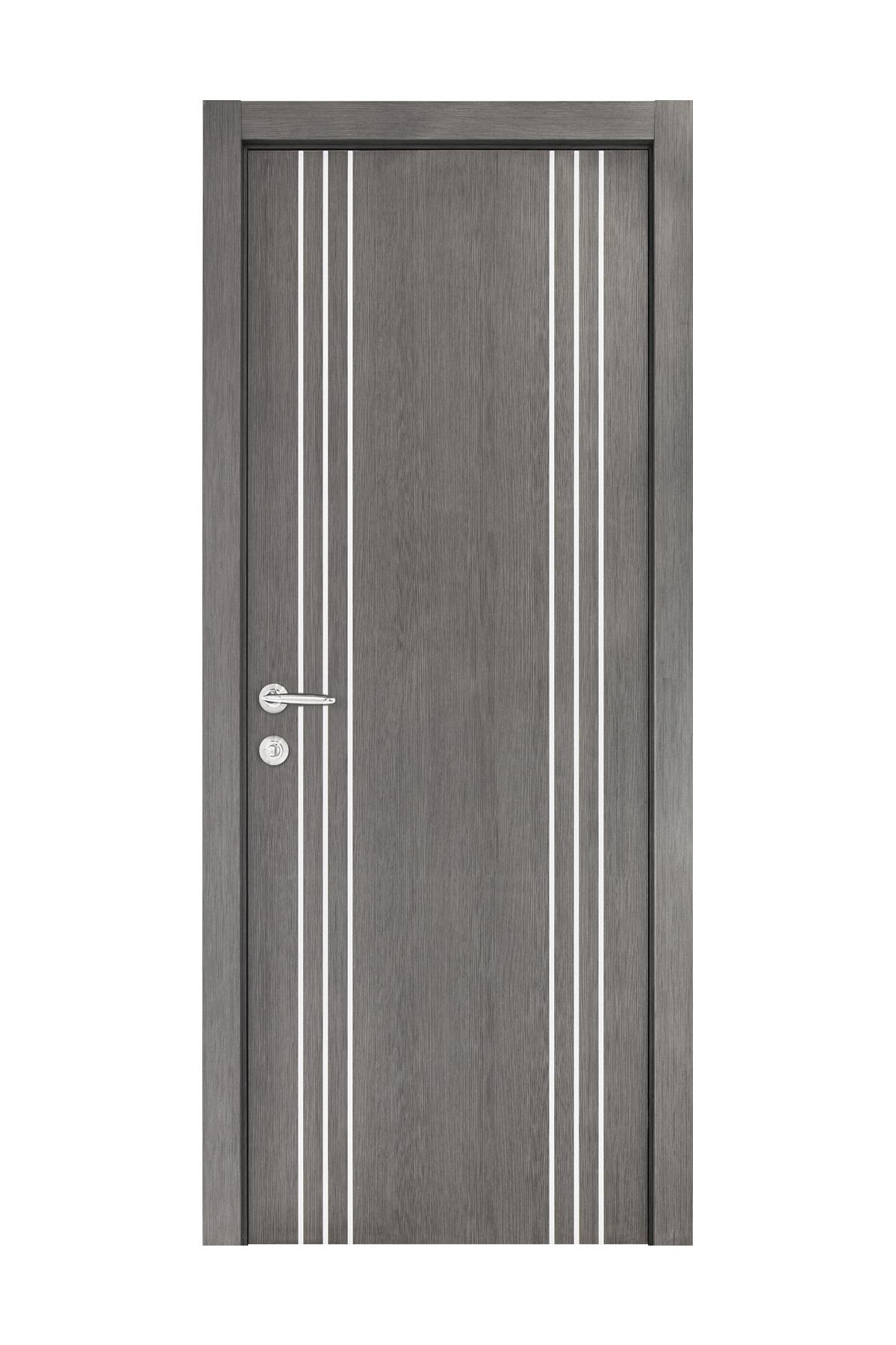 Smart 022 Gray Wood Eco Veneer Interior Door
