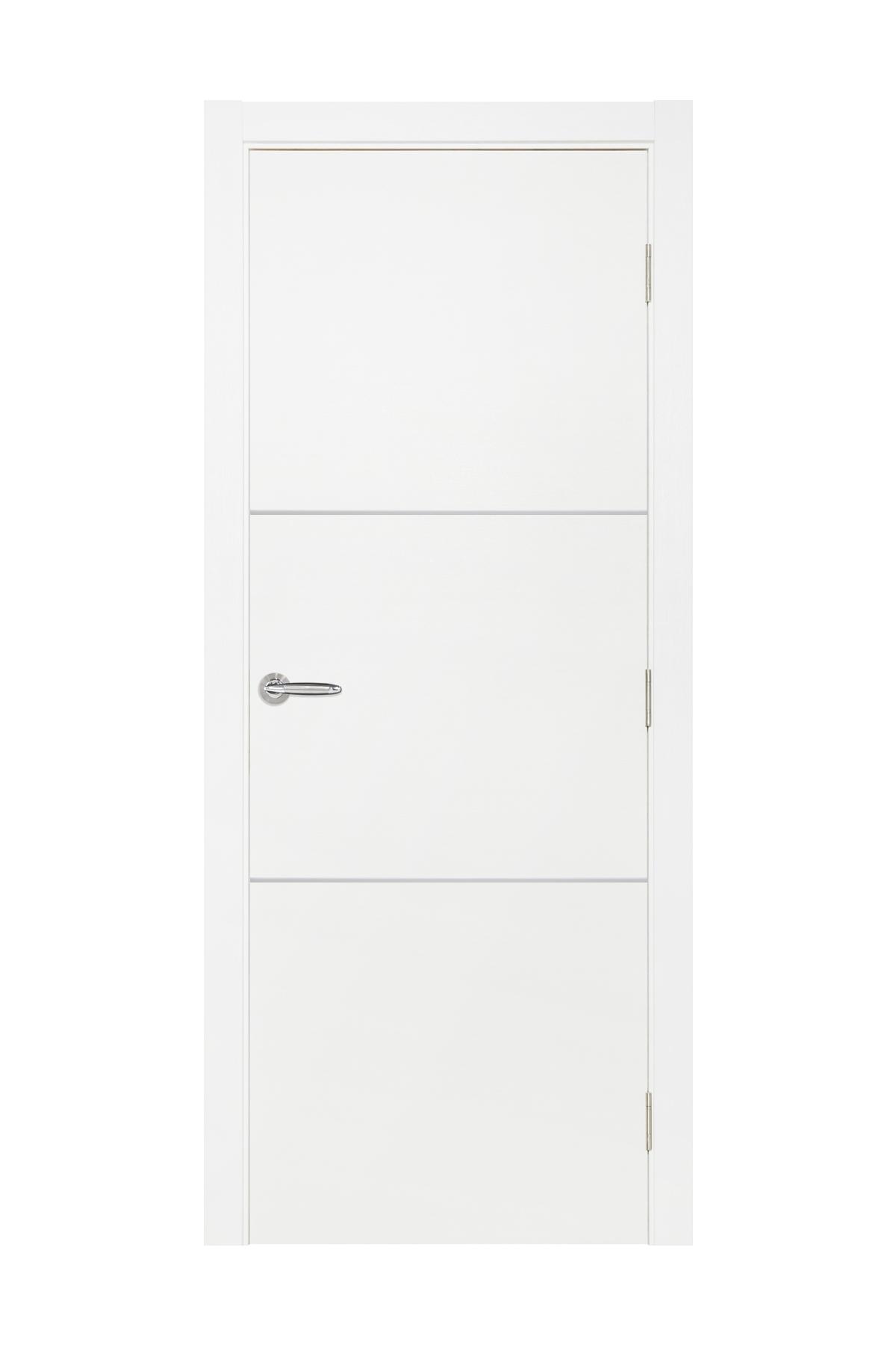 Smart 013 White Cortex Wood Interior Door