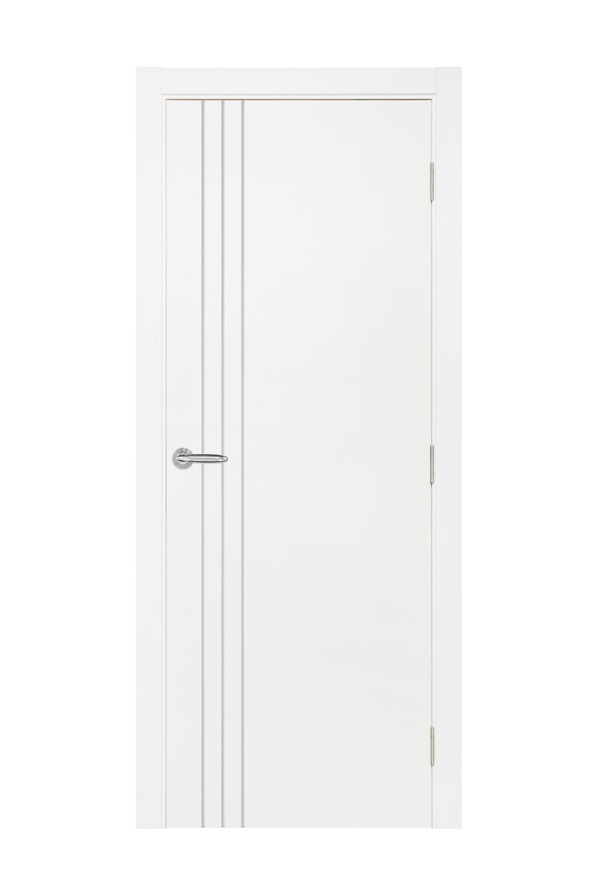 Smart 004 White Cortex Wood Interior Door