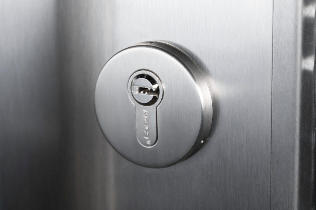 Inox S3 Grafit Grey Exterior Door - Nova Interior Doors