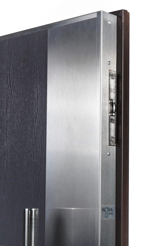 Inox S3 Premium Wenge Exterior Door Nova Interior Doors
