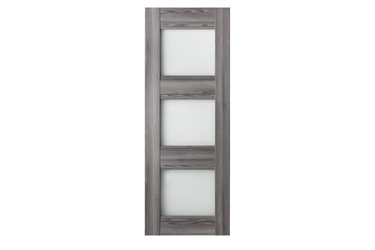 Modern Interior Door Domino G3 Gray Oak - Slab Only