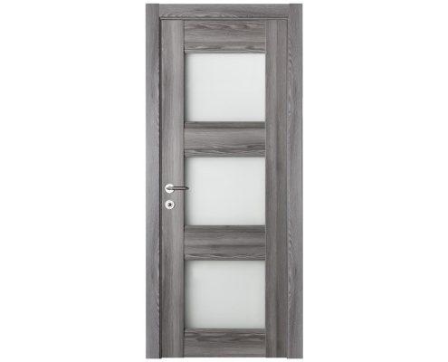Modern Interior Door Domino G3 Gray Oak - Single Door Configuration